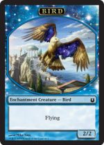 Blue bird token