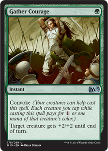 Gather Courage (FOIL) 1