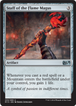 Staff of the Flame Magus (FOIL) 1