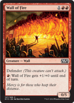 Wall of Fire (FOIL) 1