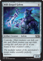 Will-Forged Golem (FOIL) 1