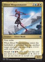 Efreet Weaponmaster (FOIL) 1