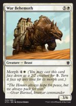 War Behemoth (FOIL) 1