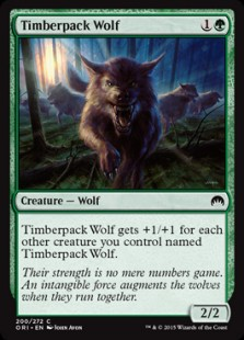 Timberpack Wolf (FOIL) 1