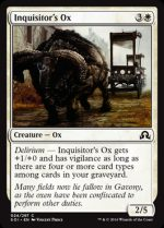 Inquisitor's Ox (FOIL) 1