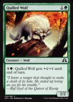 Quilled Wolf (FOIL) 1