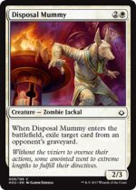 disposal-mummy